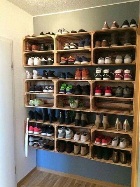 Como organizar los zapatos en casa