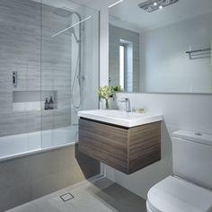 Muebles colgantes para baños pequeño