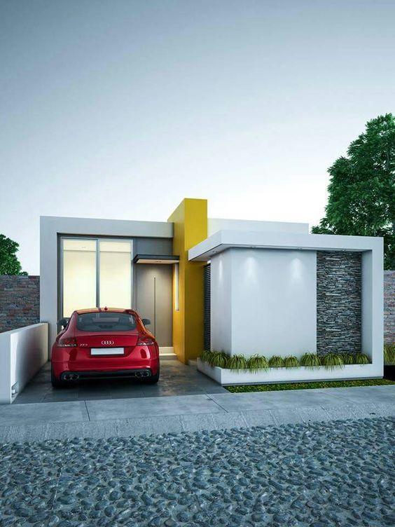 25 diseños de garajes para casas pequeñas