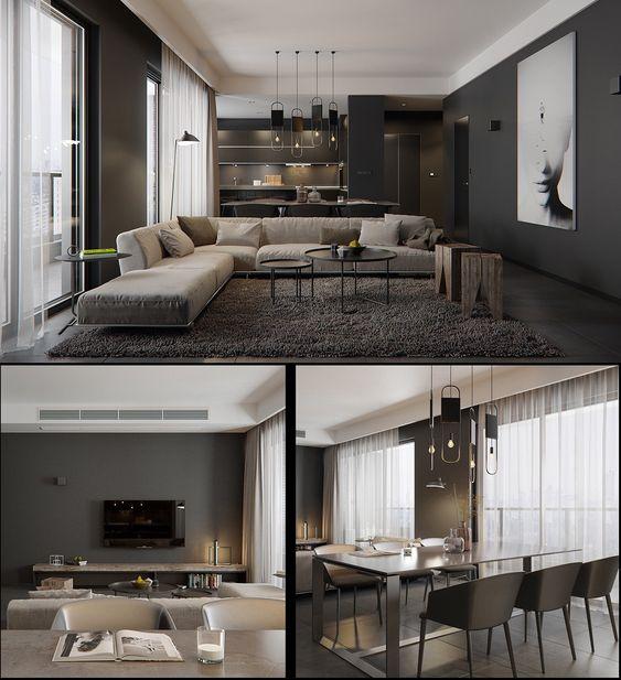 Diseños interiores de casas de dos pisos