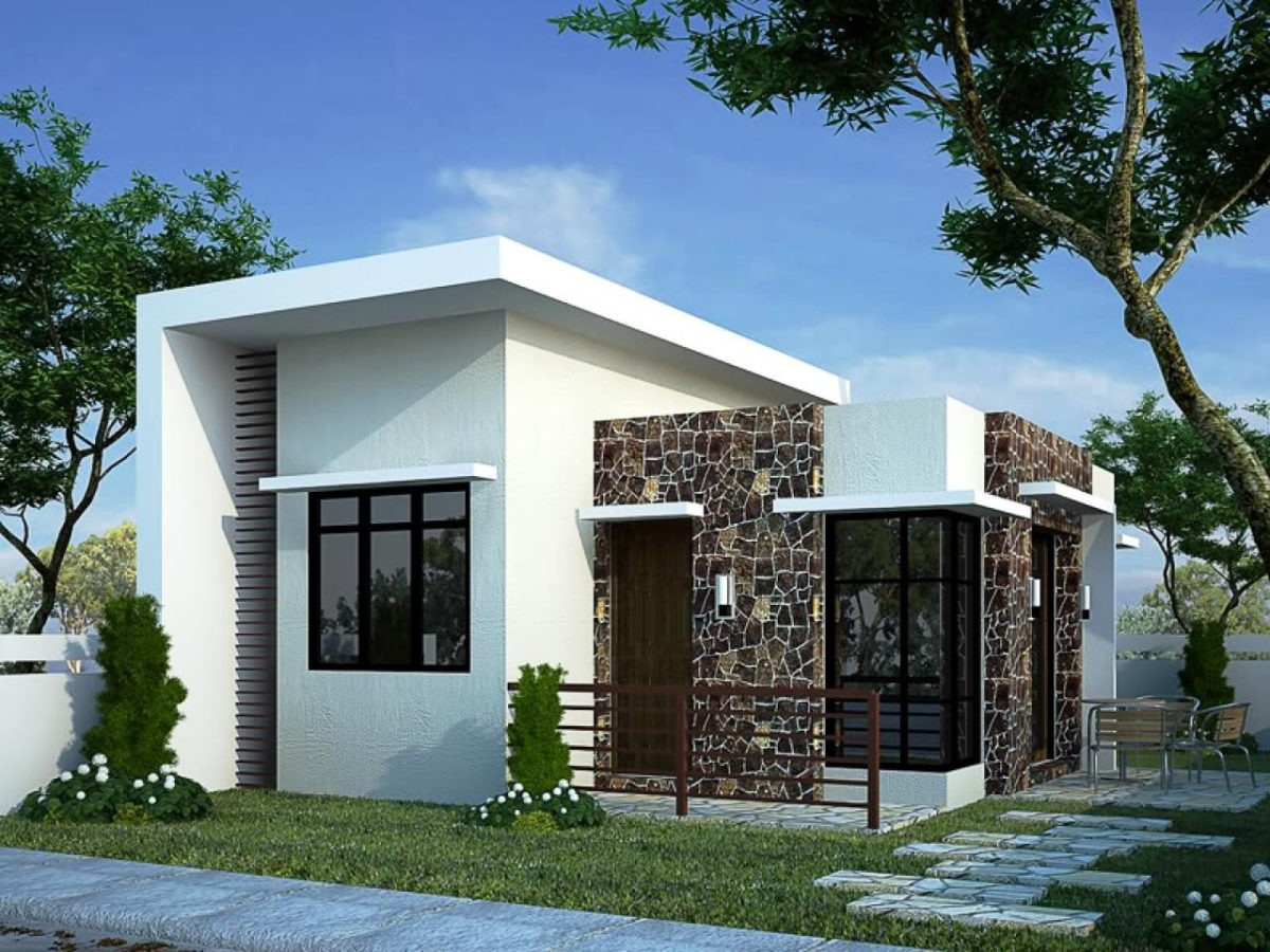 Diseños modernos - casa de 3 habitaciones y 1 Baño
