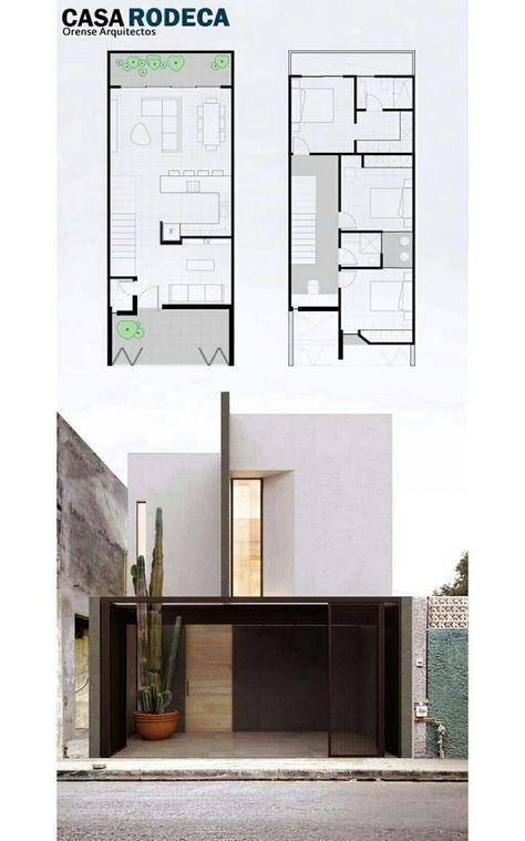 Modern designs - house with 3 bedrooms and 1 bathroom with two floors