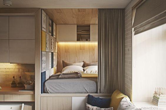 Ideas para dividir espacios interiores con triplay