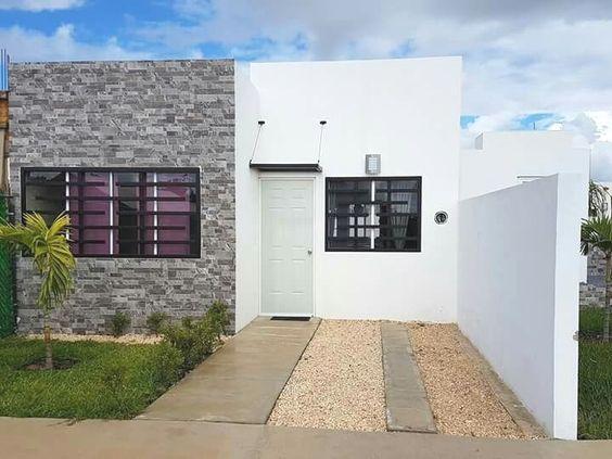 planos de casas de 4x18 de un cuarto