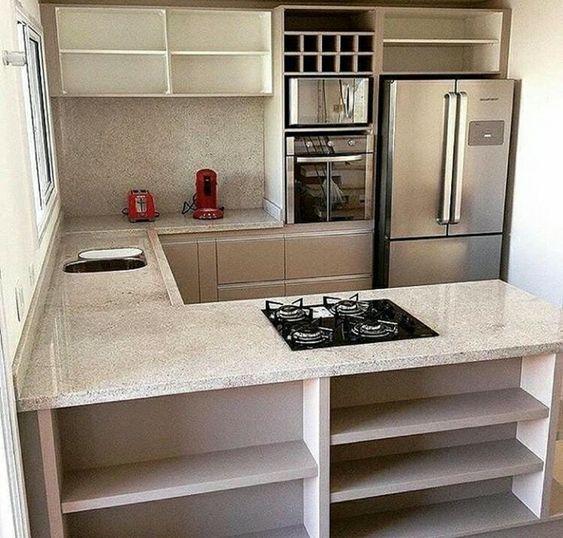 Diseños de tablaroca para cocinas