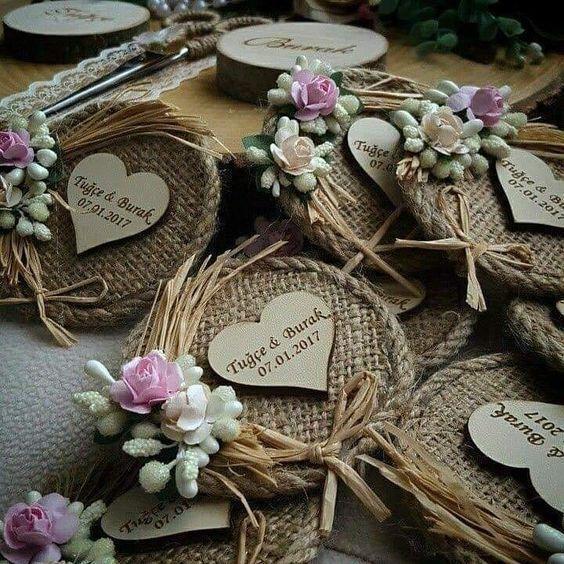 Recuerdos para boda originales y elegantes