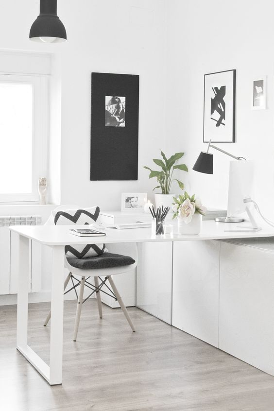 Como decorar despachos pequeños