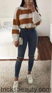 Look invernal casual para mujer