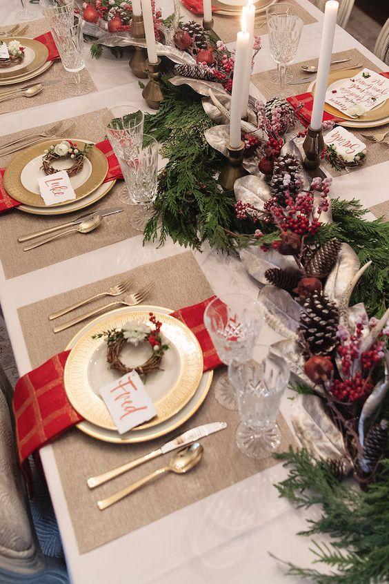 arreglos navideños 2019 - 2020 para comedores