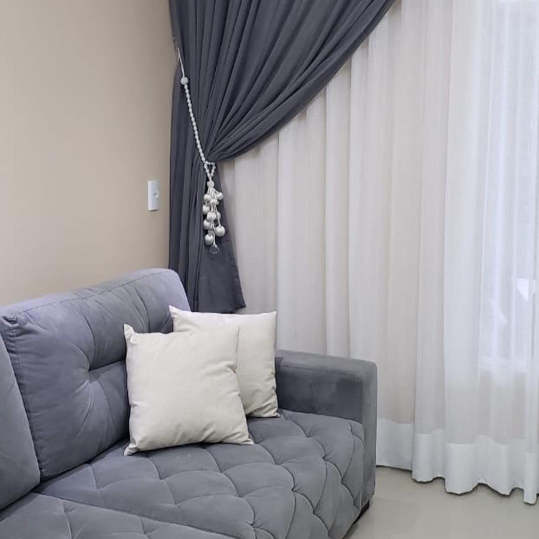 cortinas con aros modernas
