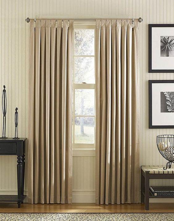 cortinas de pliegue americano