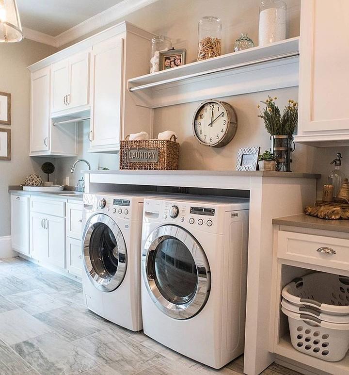 cuarto de lavado en azotea