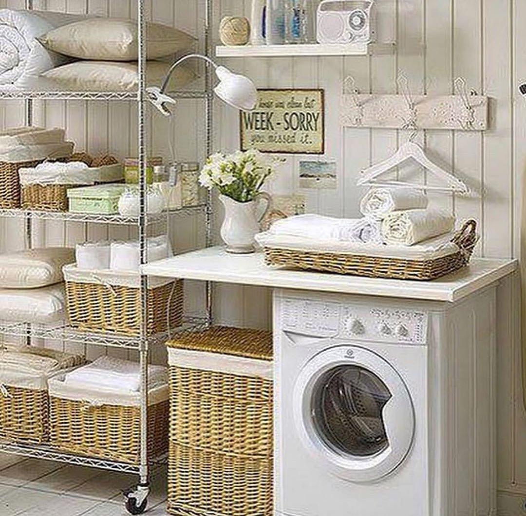 cuartos de lavado y planchado pequeños