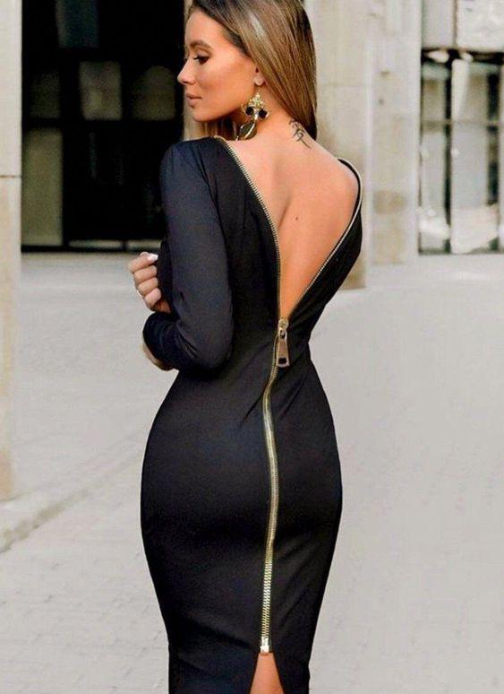Tendencia En Vestidos De Coctel Para Mujeres Maduras Como