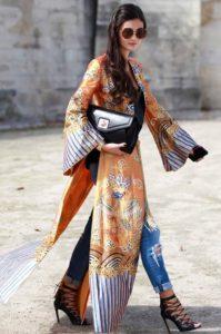 blusas estampadas extragrandes y elegantes