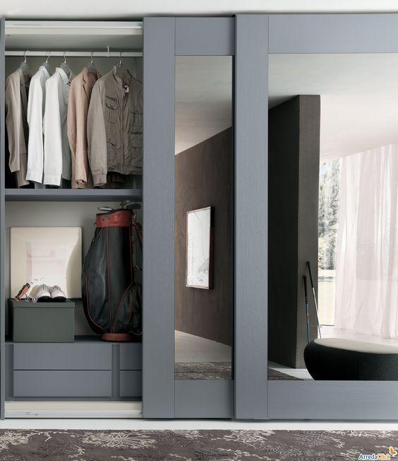 closet modernos pequeños de madera