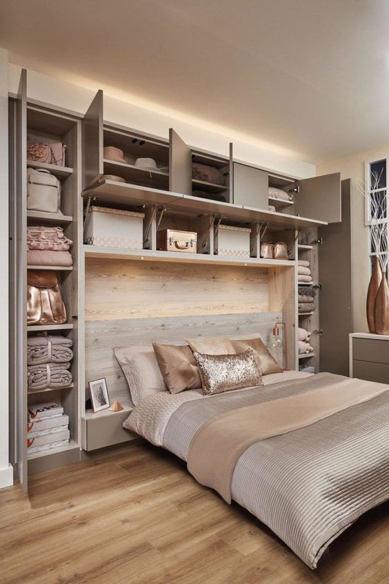 como organizar un dormitorio pequeño