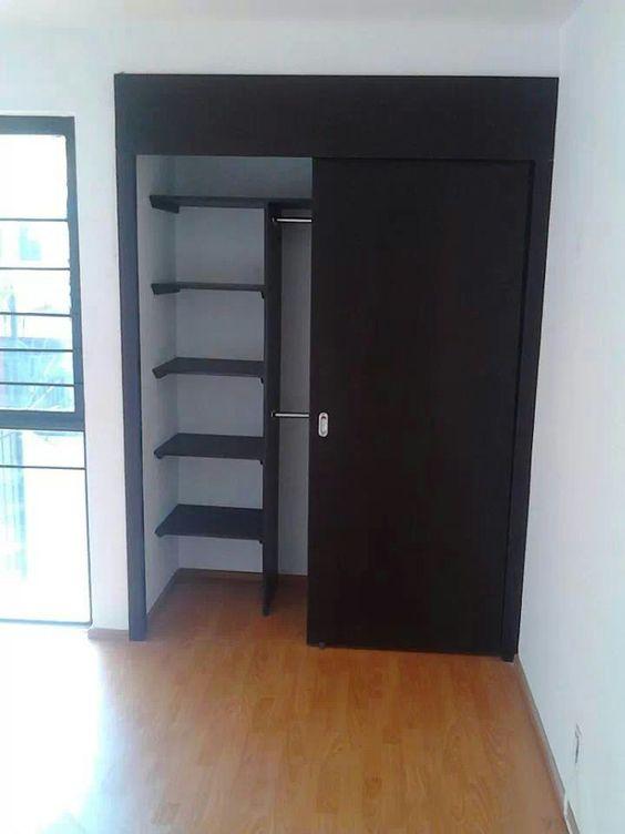 diseños de closets sencillos