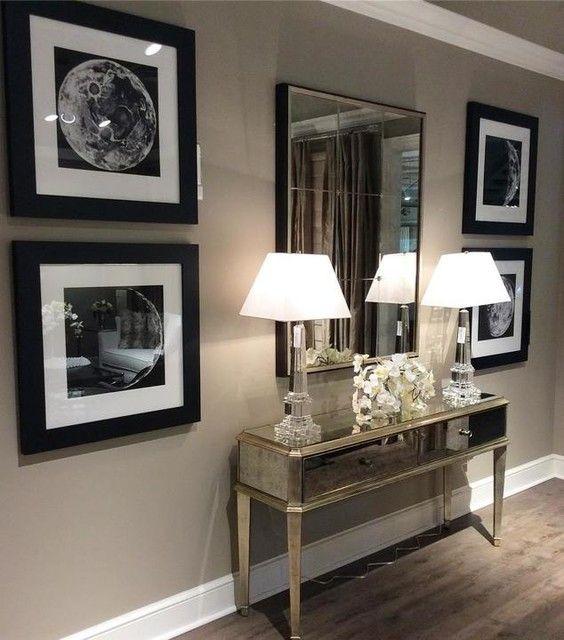 fotos de espejos decorativos para salas Espejos Decorativos Modernos Para Sala Como Organizar La