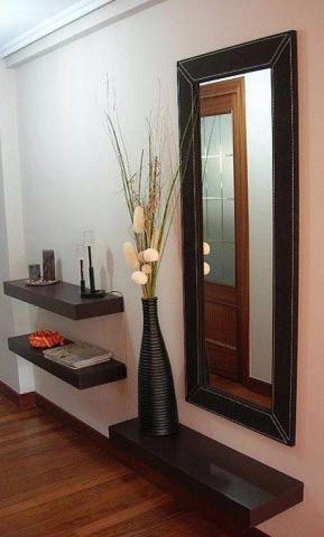 espejos para salas pequeñas con tocadores