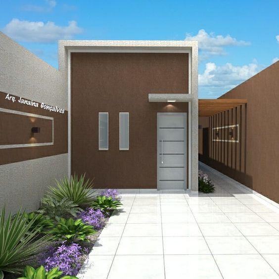fachadas de jardines para casas modernos