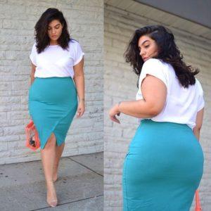 moda para mujeres de 40 años 2019 para plus size moderno