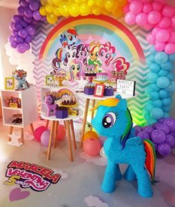 aniversario de tres años my little pony