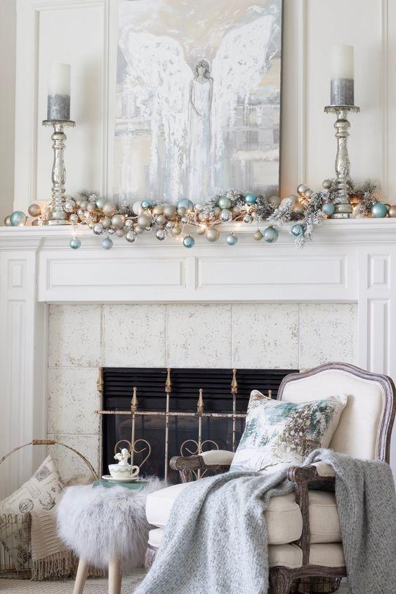 como decorar la navidad de forma elegante en casa