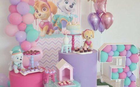 Fiestas tematicas de 3 años para niña