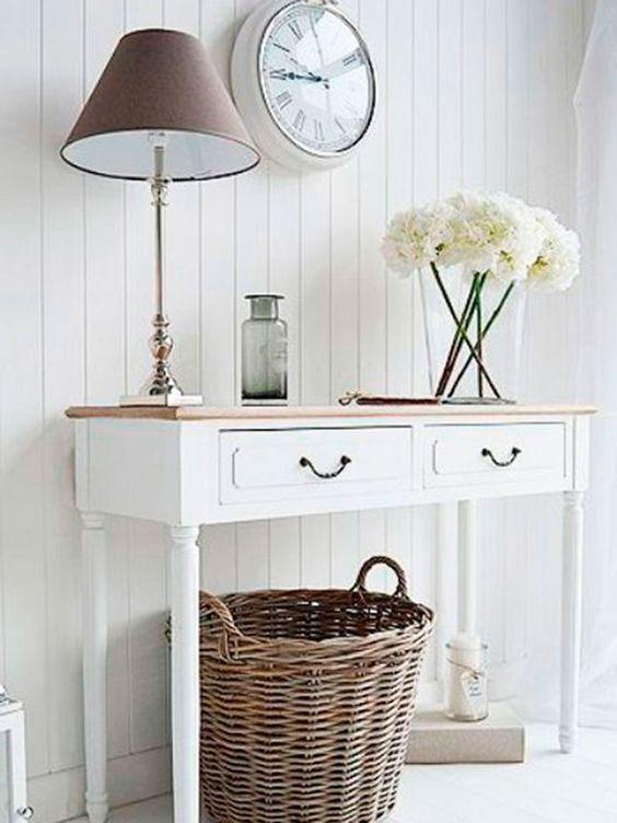 lamparas modernas para decorar recibidores pequeños
