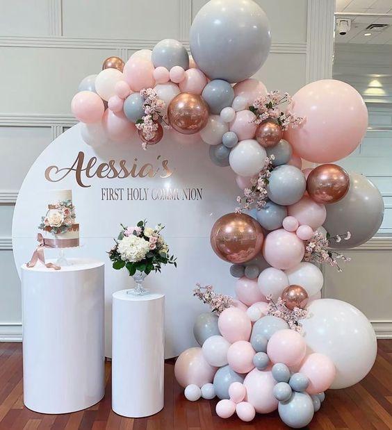 mamparas decoradas para fiestas
