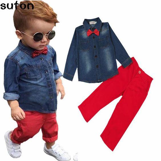 outfits casuales para bebes y niños