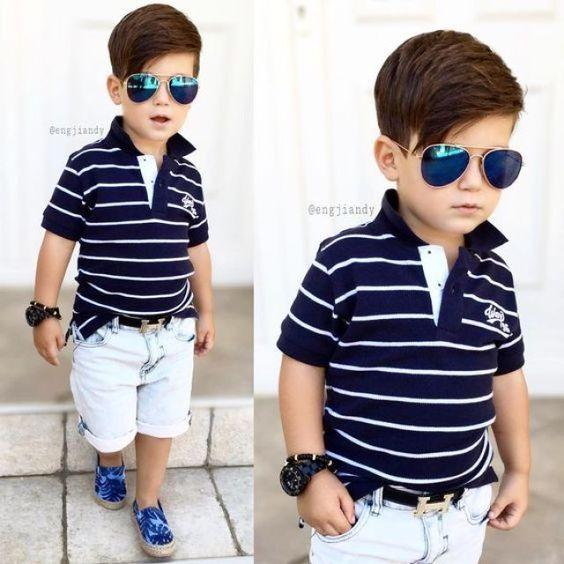 ropa de moda para niños