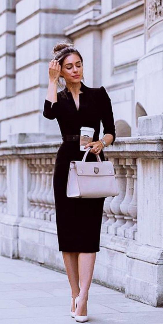 trucos para verse bonita con uniforme de oficina