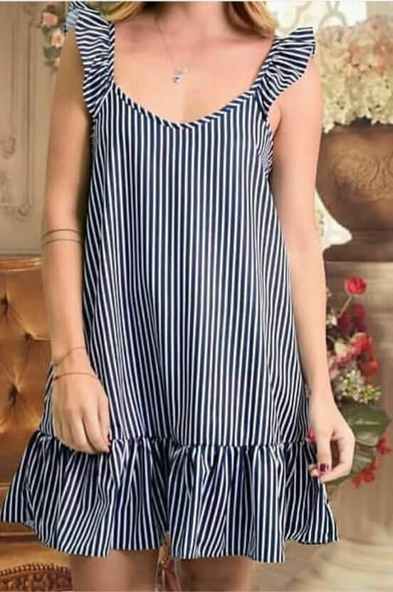 elige vestidos sueltos sobre el vientre para esconder la barriga