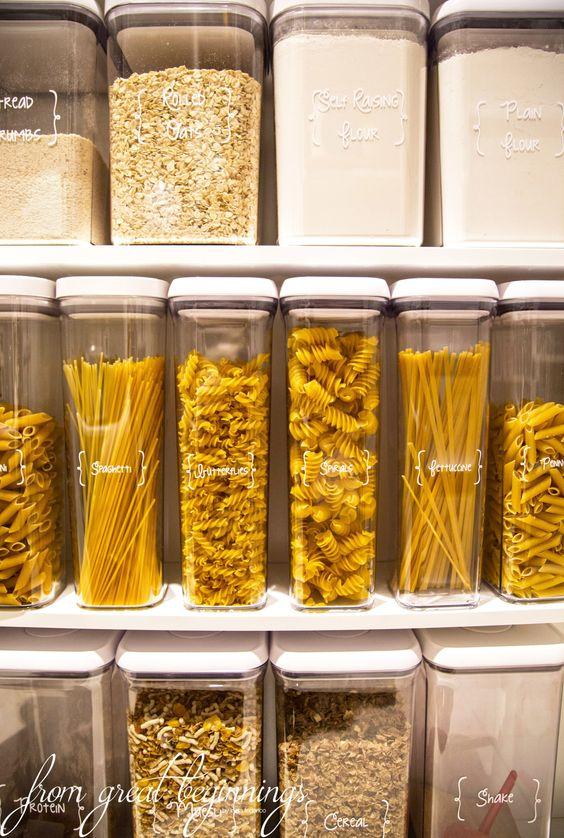 refractarios de plastico para organizar tu alacena