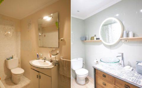 Como reformar el baño sin obras