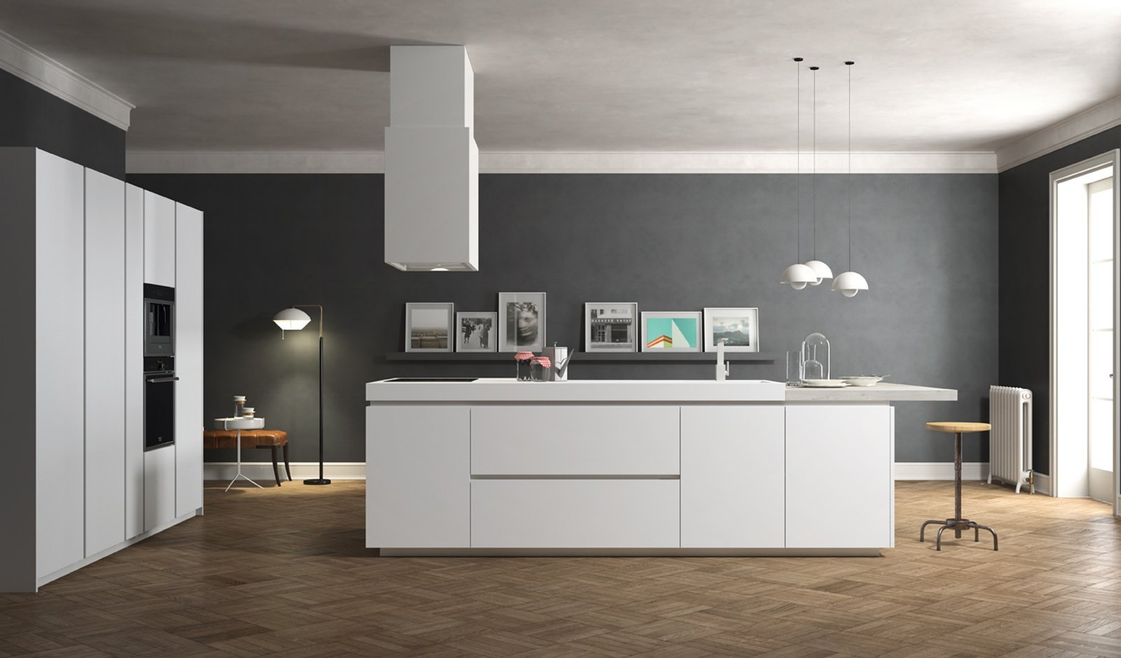 Pinta tu cocina de color gris