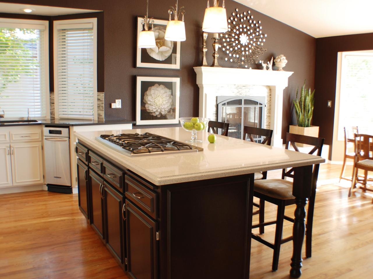 Ideas para Pintar tu cocina de color chocolate