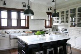 Ejemplos de Lamparas estilo industrial para inspirarte a decorar tu cocinita
