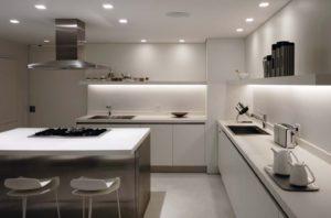 Iluminación general para la cocina