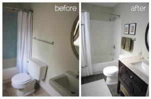 Pintar azulejos para reformar el baño