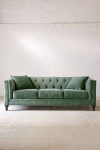 Sofá moderno sage salvia