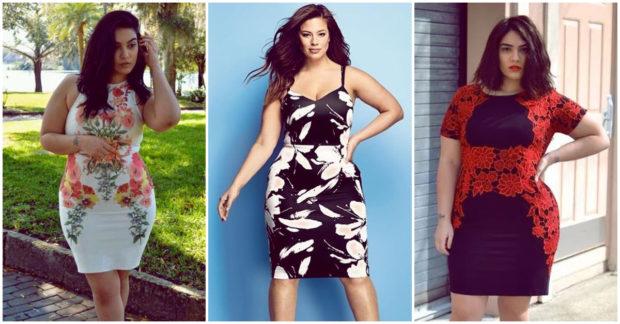 Usar vestidos con estampados llamativos para que tu cintura se vea mas chica