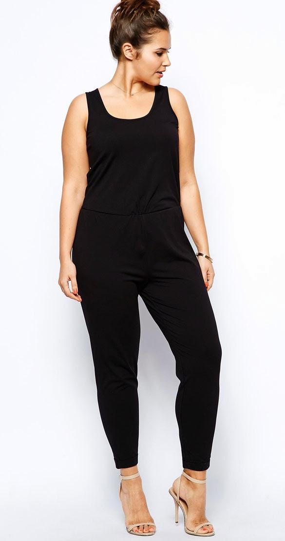 Utiliza el color negro para que tu cintura se vea mas chica