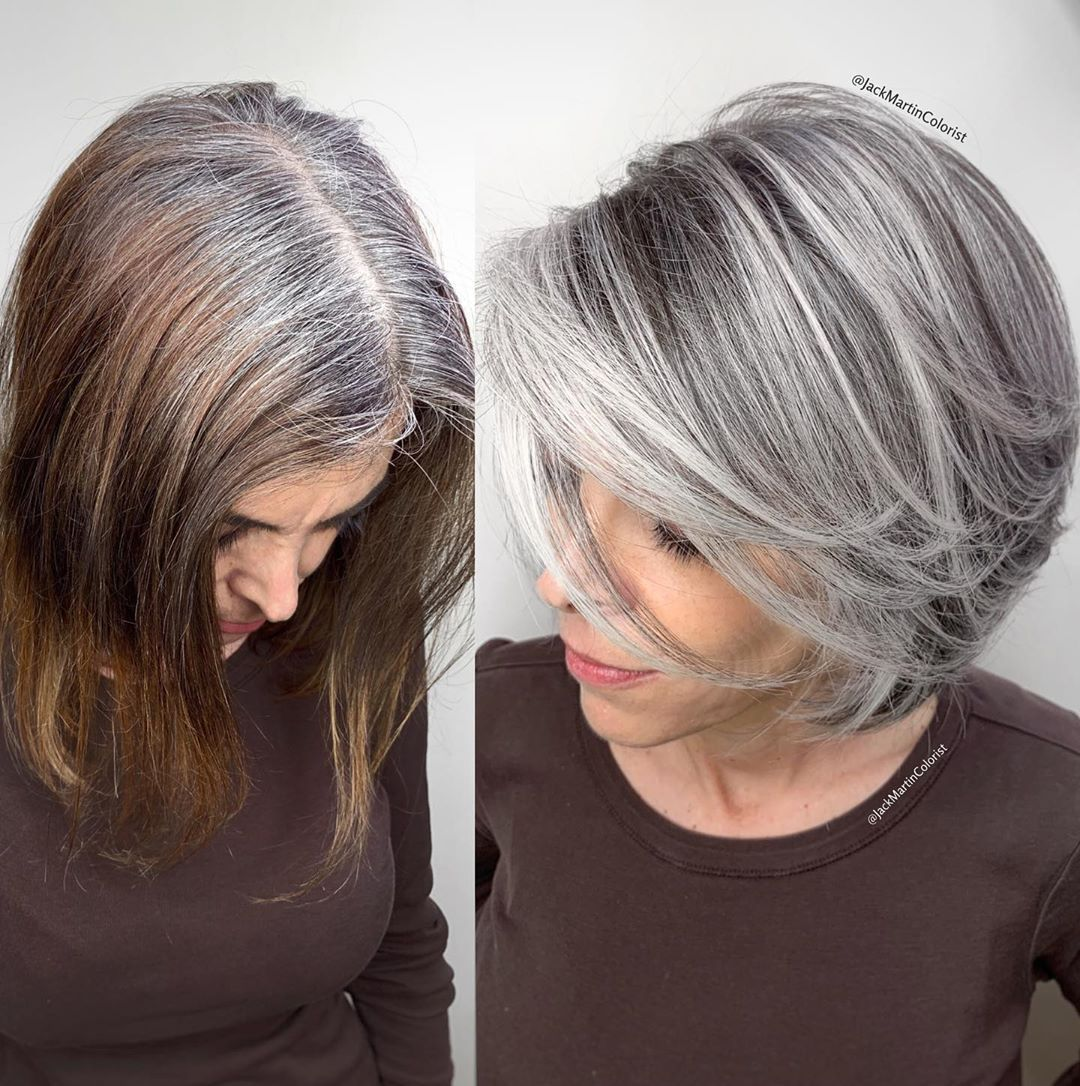 Tono de cabello silver - razones para pintarlo