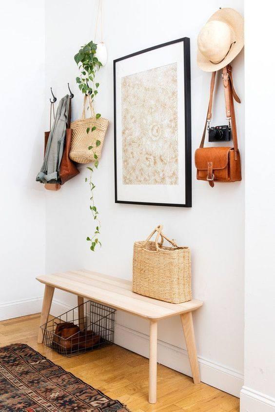 Utiliza plantas para decorar tu hall