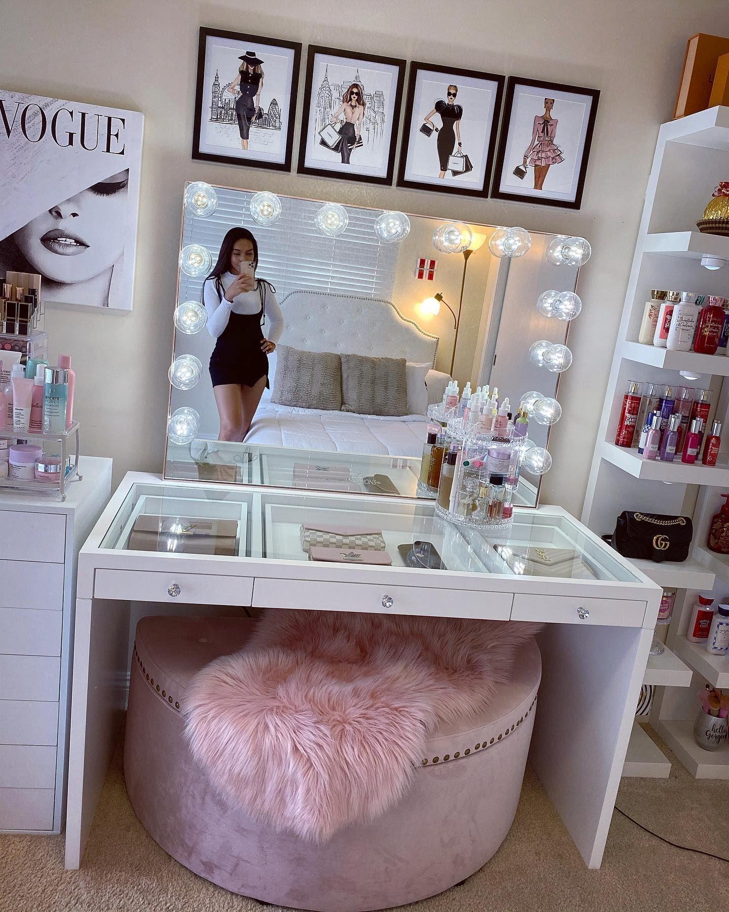 Ideas baratas y fáciles para tocadores o vanity room