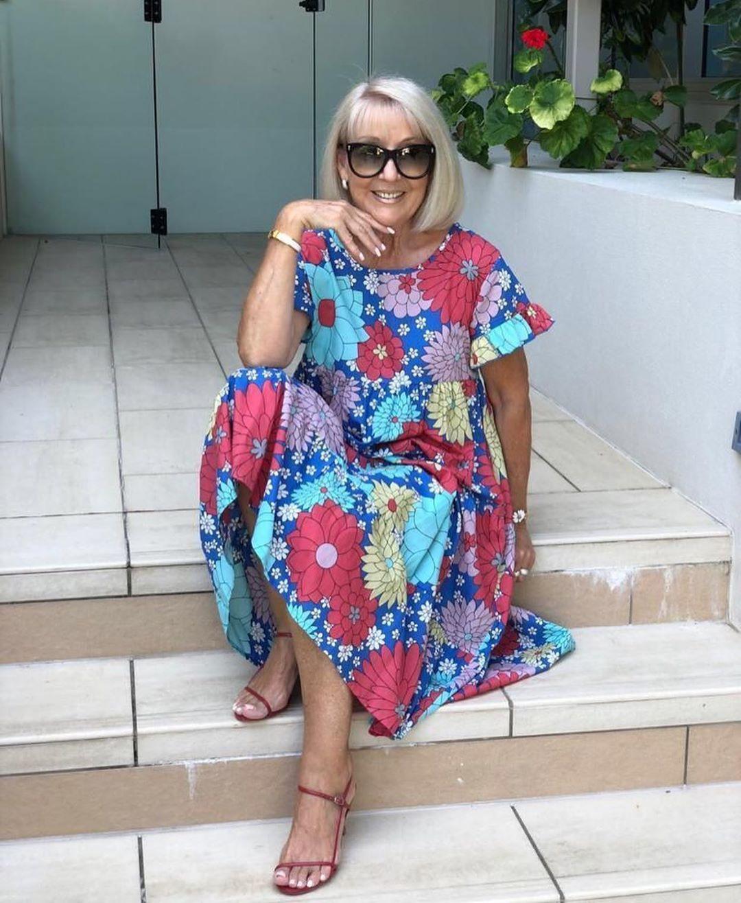 Vestidos para playa para mujeres de 50 años o mas