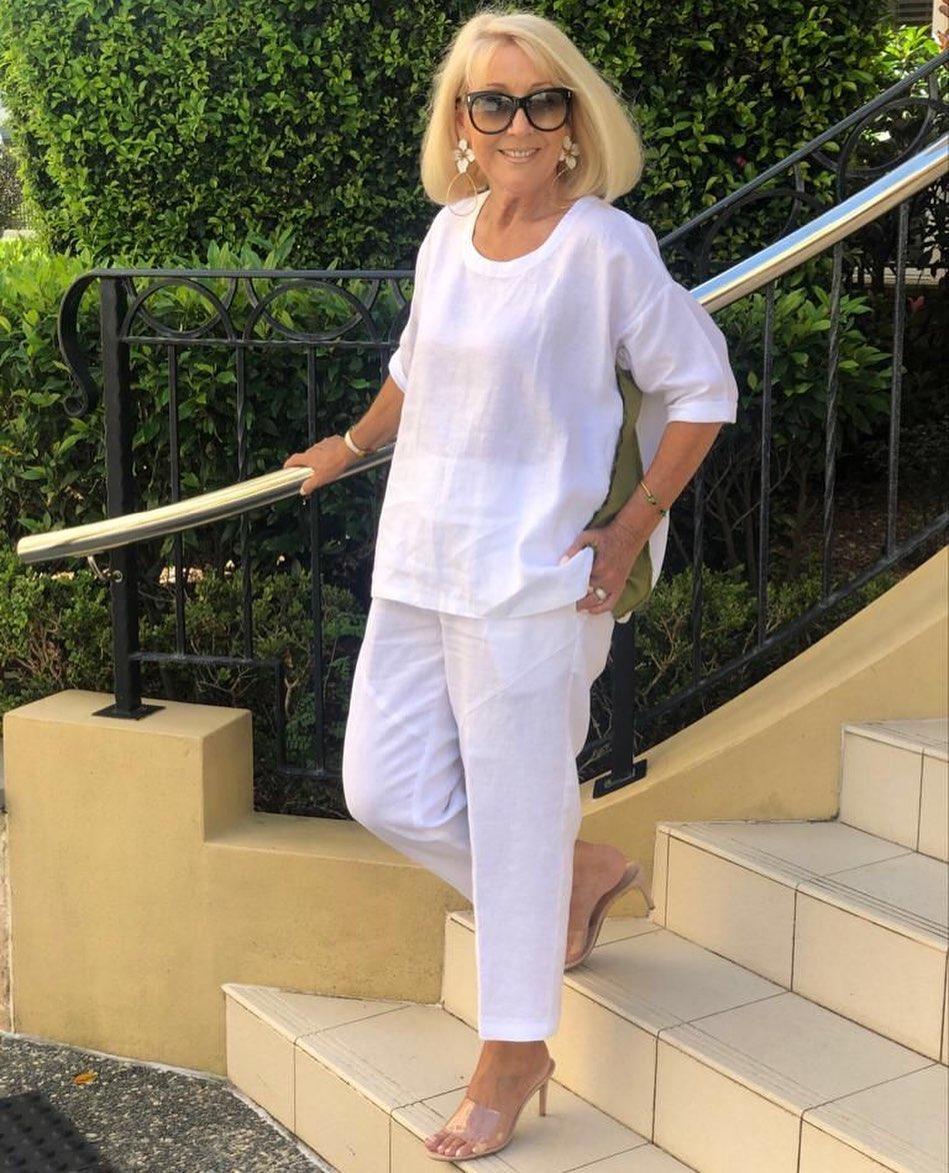 Outfits casuales para mujeres mayores de 50 años o mas